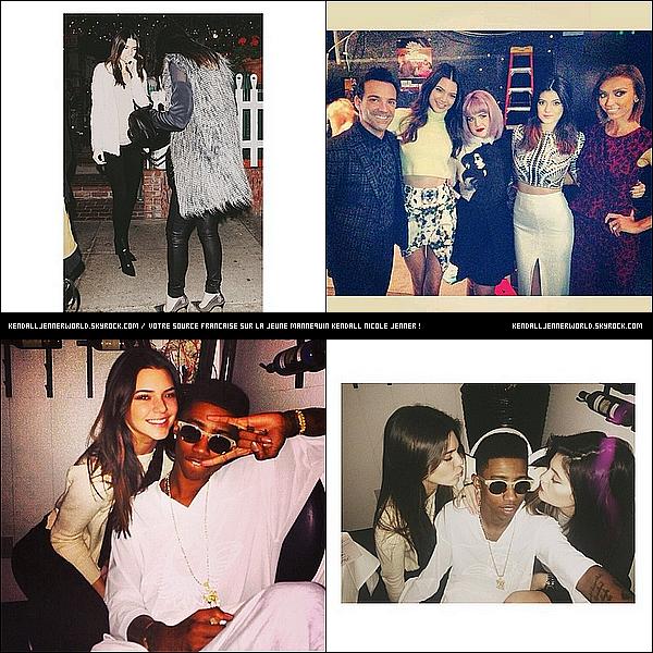 .                                                                                                                 10/01/2014 : Kendall et Kylie on étaient vu quittant un restaurant de West Hollywood dans la soirée .                           .