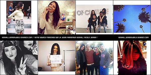 .                                                                                                                  Découvrez de nouvelles photos personnelle de Kendall postées sur instagram.                                 .