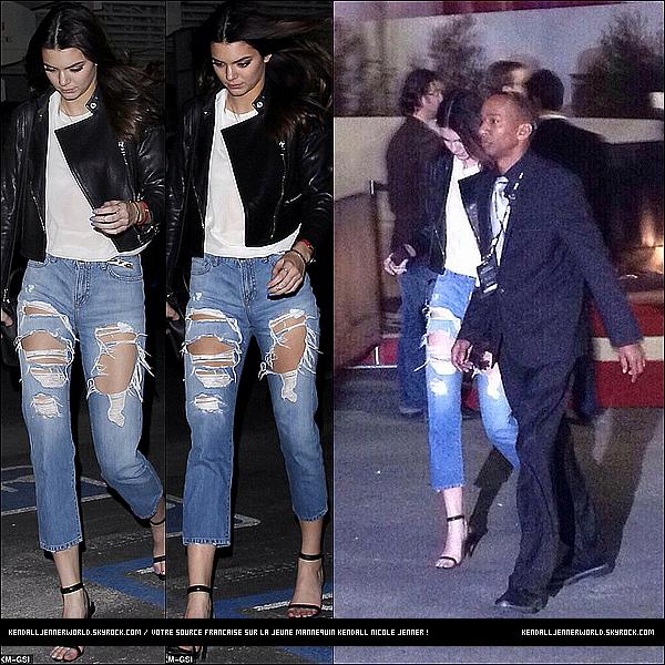 .                                                                                                                 17/01/2014 : Kendall Jenner a été vue arrivant seule au concert de The Eagles au The Forum à Los Angeles.                           .
