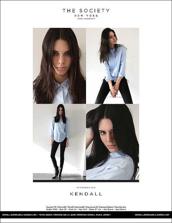 .                                                                                                                 Découvrez le portfolio de Kendall pour The Society réalisé à New-York.                             .