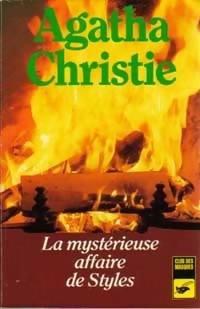 Hercule Poirot - Tome 1 : La Mystérieuse affaire de Styles, Agatha Christie