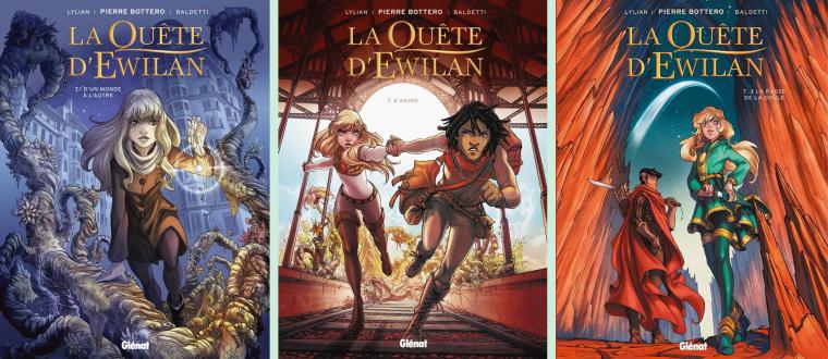 La Quête d'Ewilan (BD), Pierre Bottero, Lylian, Laurence Baldetti & Loïc Chevallier
