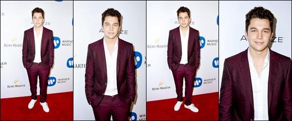_ 12/02/2017  • Austin était présent à l'after party des Grammy Awards. Vous aimez sa tenue ?  _