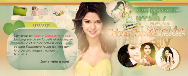 ~Ta meilleure source pour suivre l'actu de la ravissante Selena Gomez