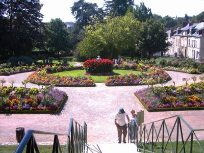 Le jardin des fleurs.