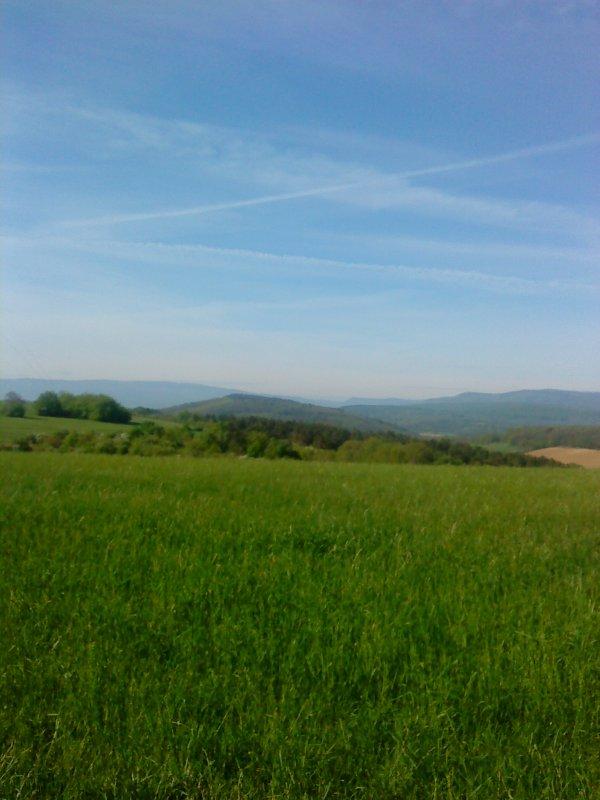 Randonnée à Gersheim - Allemagne et randonnée à Hohengoeft - Alsace.