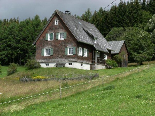 Randonnée Neustadt-Titisee - Allemagne.
