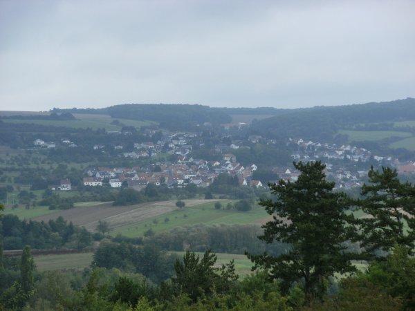 Randonnée à Auersmacher (Allemagne).