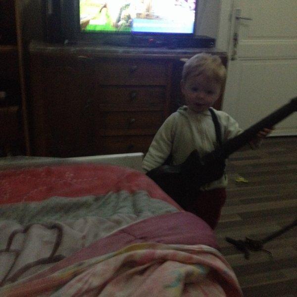 Avec la guitare