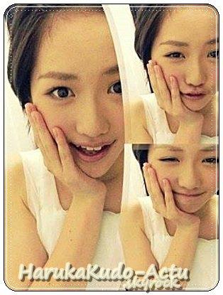 Ici le blog d'une grande Fan et Admiratrice de la belle et talentueuse  Haruka Kudo ♥