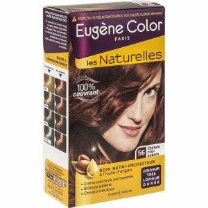 Article sur Eugene color: Coloration Châtain clair aubrun