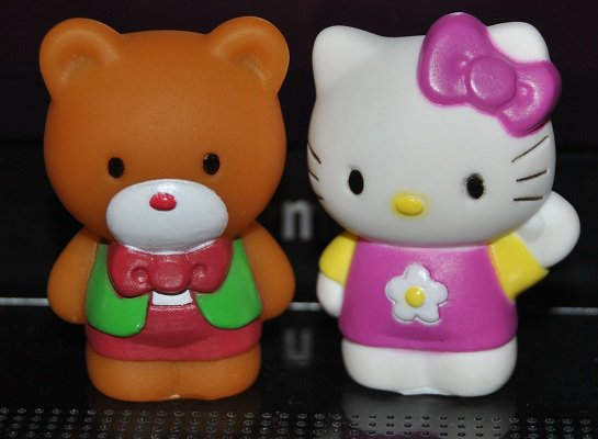 Collection 10 : Figurines Hello Kitty et sa famille