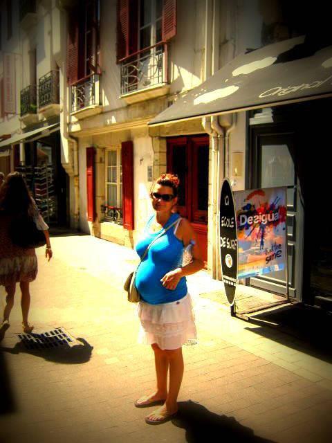 vacance à st jean de luz enceinte de 6 mois!! chaud chaud
