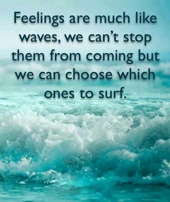 Feelings are much like...