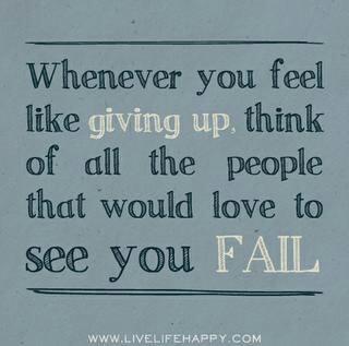 Whenever you feel like ...