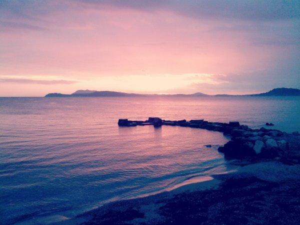 Toulon & son sublime couché de soleil