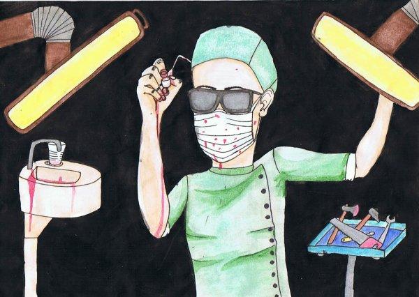 Odontophobie (peur du chirurgien-dentiste; des actes médicaux ou chirurgicaux en bouche)