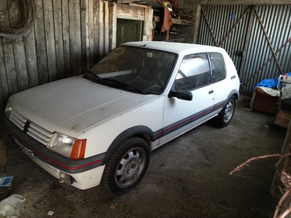 205 gti 130ch  1987