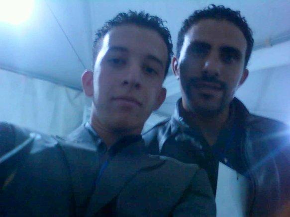 Moi et Khalid talha
