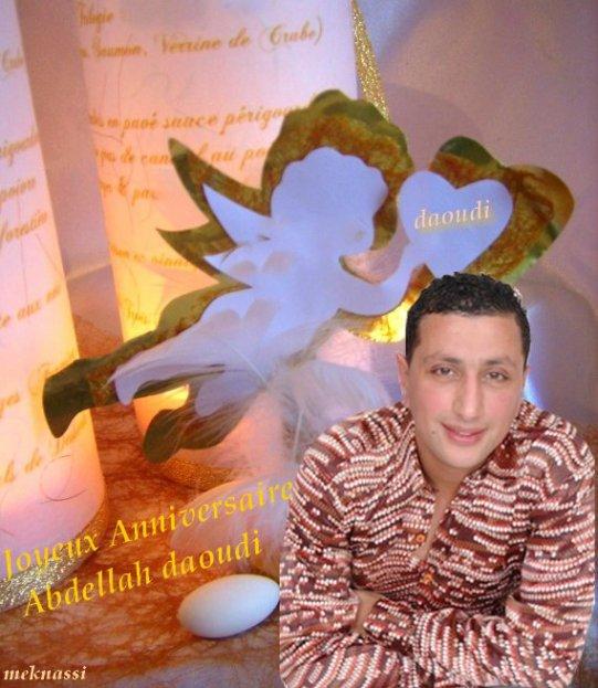joyeux anniversaire Abdellah daoudi