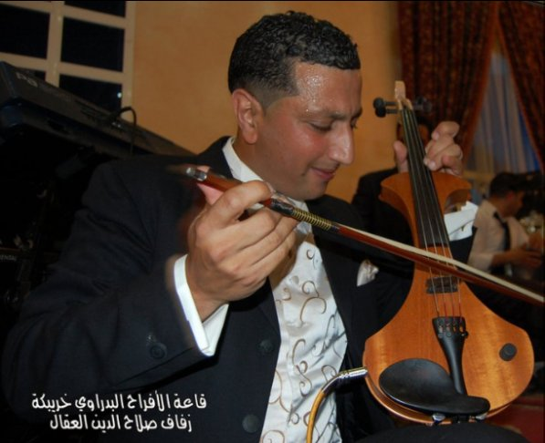 Abdellah dans un mariage