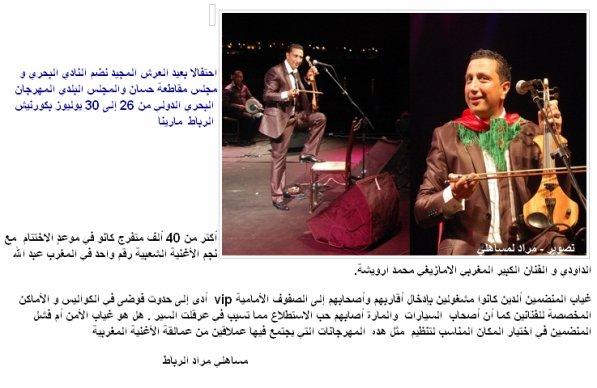 Abdellah daoudi a Rabat