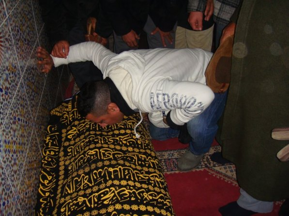 جنازة سي محمد الرويشة رحمه الله