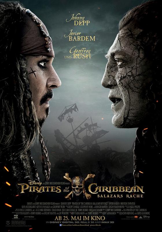 Pirates des Caraibes : La vengeance de Salazar