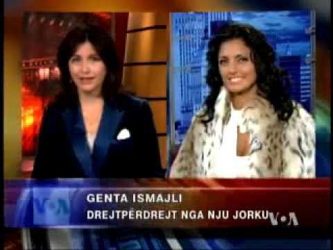 "Genta Ismajli - Musafire sot ne VOA ""Voice of America"""