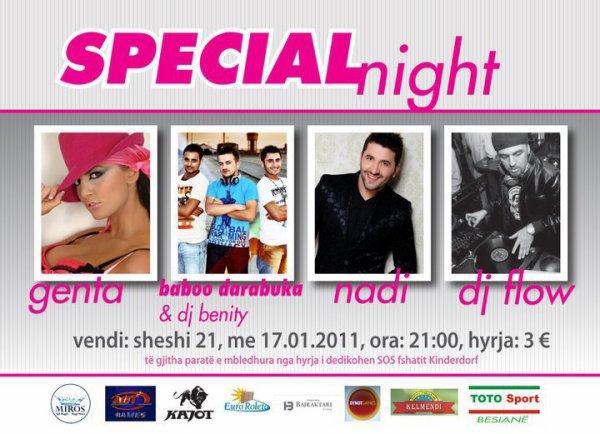 Genta Ismajli - Special Night - 17.01.10