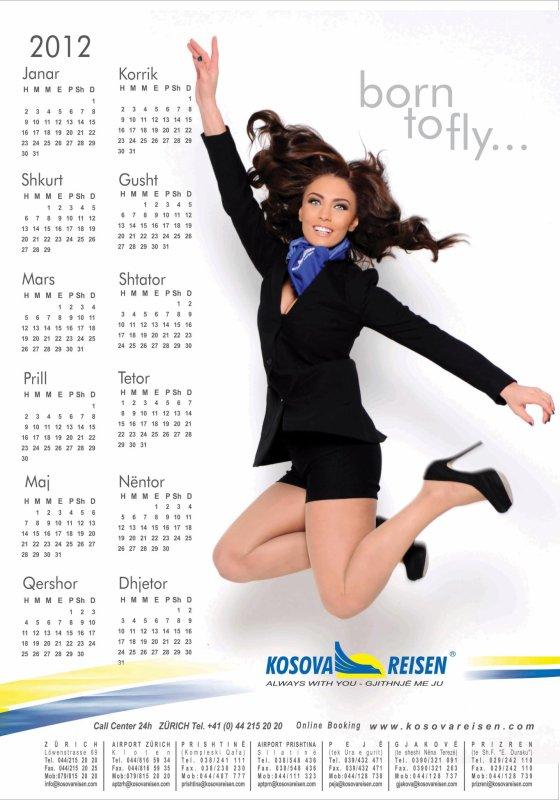 Genta Ismajli - Kalendar 2012