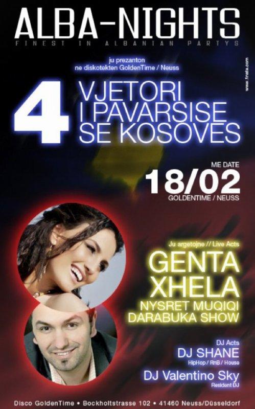 Genta Ismajli - Koncert ne Golden Time - Gjermani 18.02.12