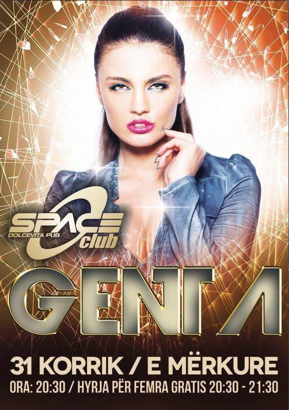 Genta Ismajli - Sonte Space Club - Pejë