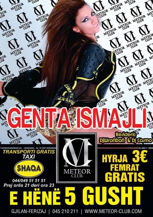 Genta Ismajli - Sonte Meteor Club Gjilan