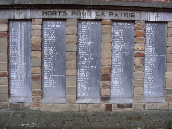 Nom des victimes civiles