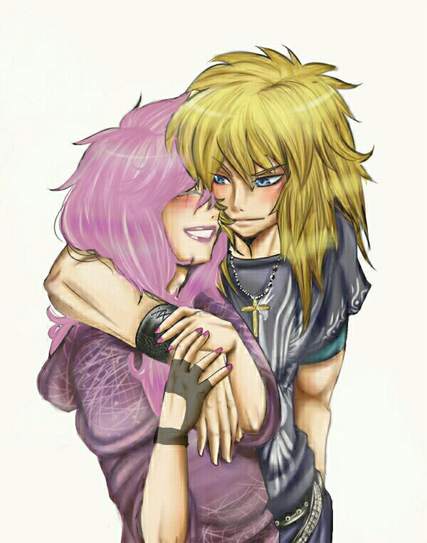 image Hyoga et Evangeline