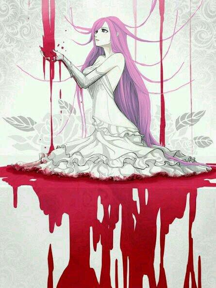 Evangéline et le sang