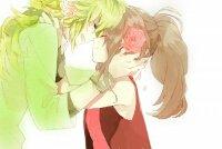 Shun et Anaya -le vert et le rouge