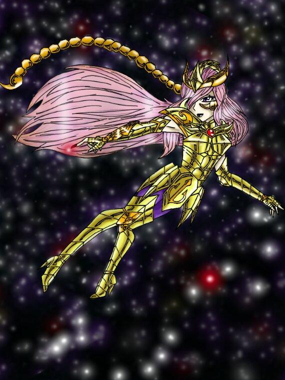 Nouvelle version dessin Evangeline du Scorpion