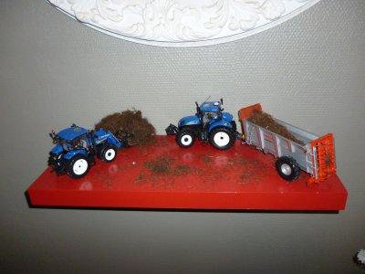 les miniature que j'ai eu a NOEL