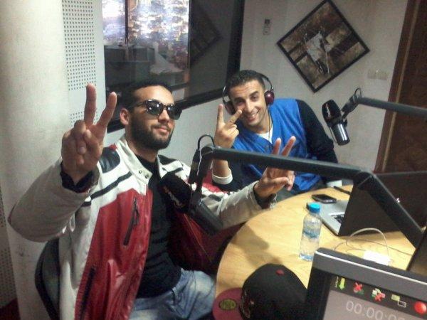 Lssanlhor (L7ROUFTAYRA) & Othman (H-Kayen) radio Medina Fm