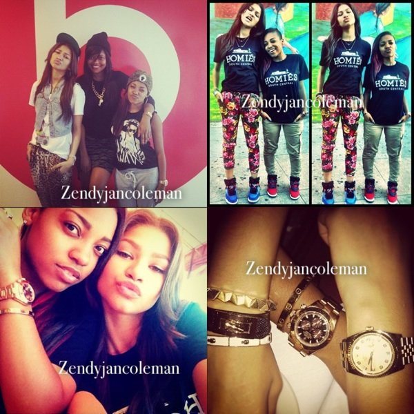 Nouvelles photos Mobli et Twitter de Zendaya !
