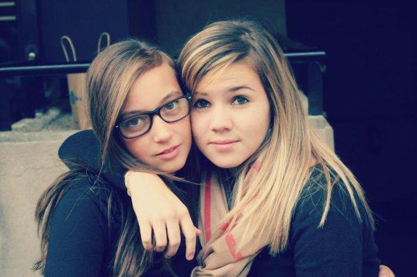 *Laury-Anne Sahli & Leandra Alves.