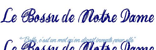 14 - Le Bosse de Notre-Dame