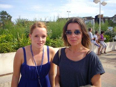 Elodie Bouchez - Deauville - Le 11 septembre  2010