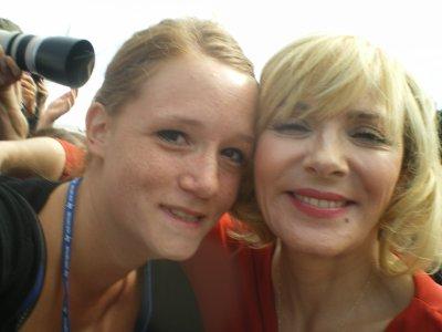 Kim Cattrall - Deauville - Le 11 septembre 2010