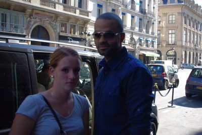 Tony Parker - Paris - le 21 septembre 2010