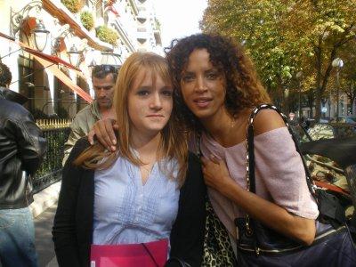 Noémie Lenoir - Paris - Le 8 octobre 2010
