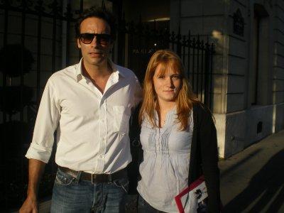 Anthony Delon - Paris - le 8 octobre 2010