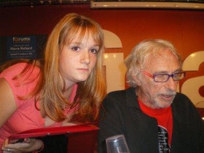 Pierre Richard - Fnac Montparnass - le 9 octobre 2010